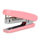 M&G ABS91633 Cute Plastic + Stainless Steel Stapler + Staples Set - Pink
