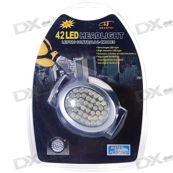Compact 42-LED 4-Mode Universal Lamp (3*AA)