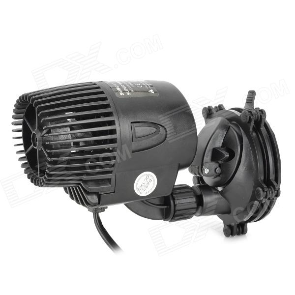 SOBO WP-300M Mini 10W Quiet Wave Maker for Fish Tank / Aquarium - Black 390mm cylinder water tank sc600 pump all in one set maximum flow 600l h computer water cooling radiator