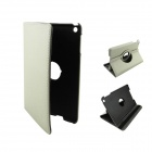 360 Degree Rotation Protective PU Leather Case Cover Stand for Ipad MINI - Grey