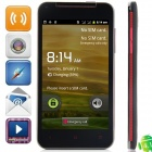 "KVD X920e Android 4.1.1 GSM Bar Phone w/ 5.0"" Capacitive Screen, Quad-Band and Wi-Fi - Black"
