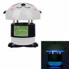 Beixi MWD-136 Cute Panda-Art-LED Mosquito Killer - Weiß + Schwarz (2-Flat-Pin Stecker / 220V)