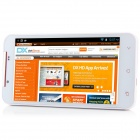 "PULID F17 MTK6589 Quad-Core Android 4.2.1 WCDMA Bar Phone w/ 5.0"" HD, Wi-Fi, FM and GPS - White"