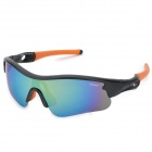 CARSHIRO 9137 Outdoor Cycling Polarized UV400 Protection Sunglasses - Black + Orange