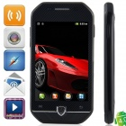 "F599 Android 4.0.3 GSM Bar Phone w/ 3.5"" Capacitive Screen, Quad-Band and Wi-Fi - Black"