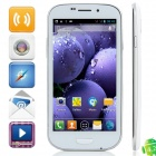 "9930i MTK6589 Quad-Core Android 4.2.1 WCDMA Bar Phone w/ 4.7"", Wi-Fi, FM, GPS, Dual-Camera - White"