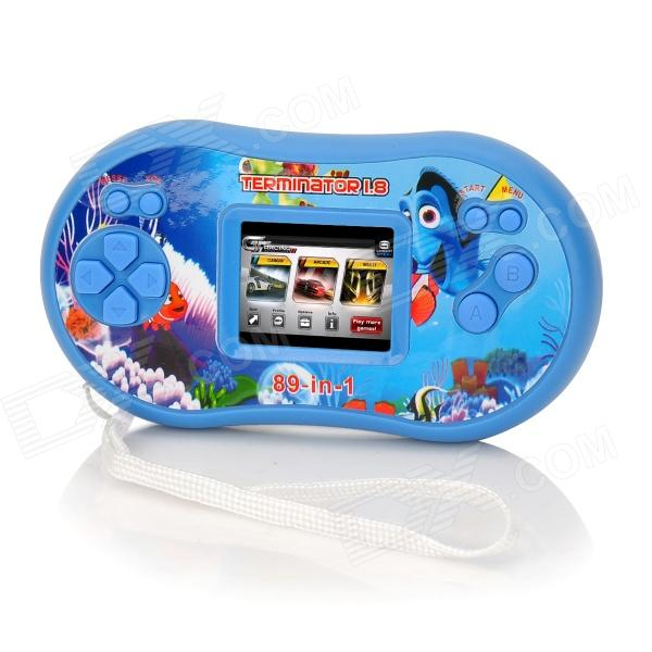 "PocketGame HG-892 1.8"" Screen Handheld Game Console - Blue"