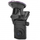 "D1 Full HD 1080P 1.5"" TFT 5.0 MP CMOS Wide Angle Car DVR w/ G-Sensor / IR Night Vision - Black"