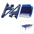 Sport Professional Folding Nylon Table Tennis Net Set - Blue