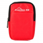 "Blueendless Fashion Protective Bag for 2.5"" HDD / Mobile Phones / Power Bank - Red"