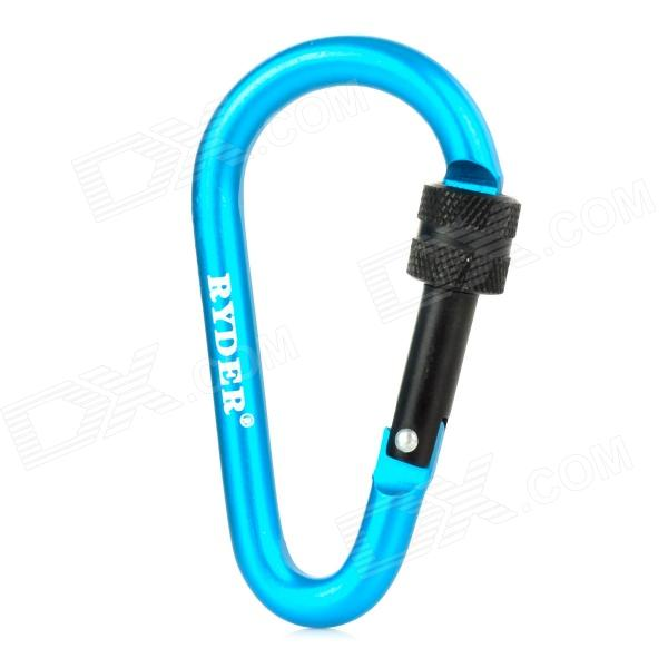 RYDER Anodizing Aluminum Alloy Screw-Lock Carabiner - Blue (7mm)