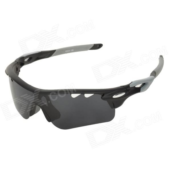 все цены на CARSHIRO T9559 Cycling UV400 Protection Polarized Sunglasses w/ Replaceable Lens - Black + Grey онлайн