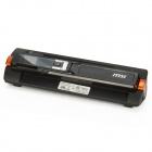 "MS-T4ED 2-in-1 1.4"" LCD USB A4 Scanner w/ TF Card Slot + Automatic Feed Stand - Black"