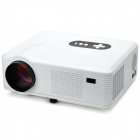 RuiQi MY-668T 1280 x 800 Android 4.0 LCD Projector w/ 1GB RAM / 4GB ROM / LED - White + Black