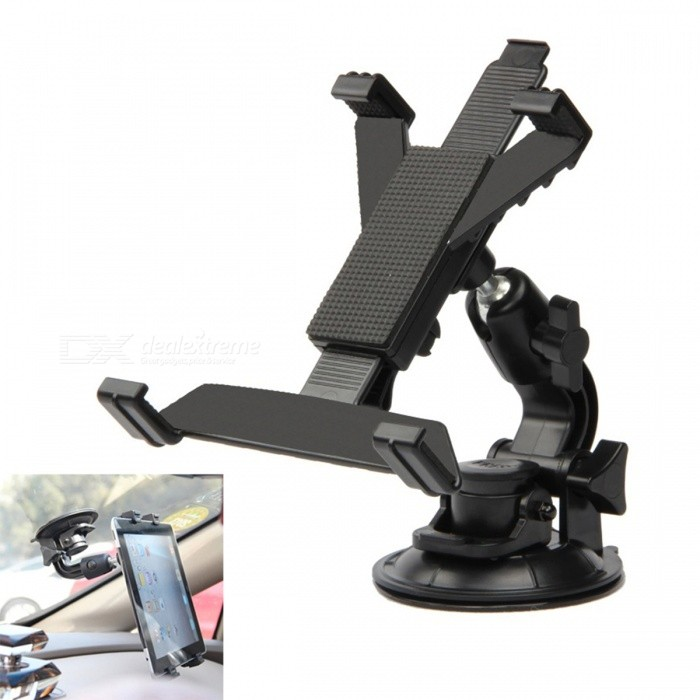 Car Suction Cup Mounted Holder Stand Bracket for 7, 8, 9, 9.7, 10.1 Inch GPS Navigator / Tablet