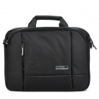"Kingsons KS3023W Business Foamed Nylon Tote Bag for 14.1"" Laptop - Black"