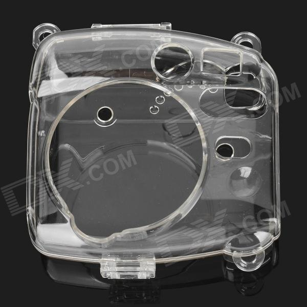Stylish Protective Plastic Full Case for Fuji Instax Mini 8 - Transparent