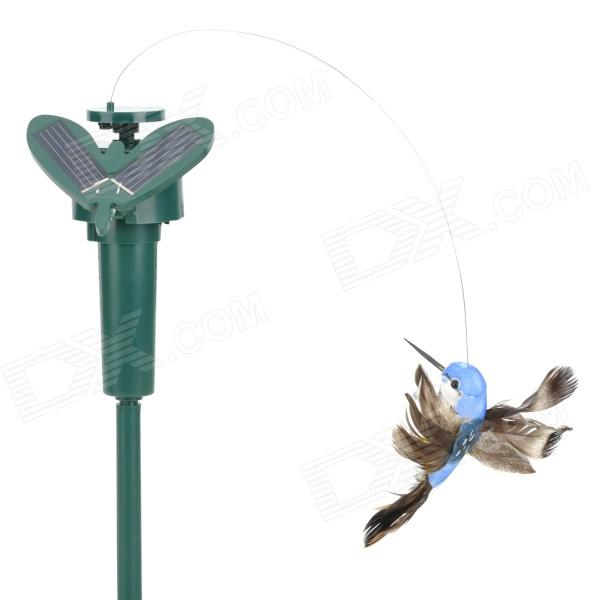 Lifelike Decorative Garden Courtyard Solar Flying Bird Toy - Multicolored (1 x AAA) от DX.com INT