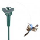 Lifelike Decorative Garden Courtyard Solar Flying Bird Toy - Multicolored (1 x AAA)