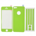 i-color Protective Full Body Sticker Film Set for Iphone 5 - Green