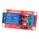 1-Channel 9V Relay Module w/ Opto-isolator - Red + Blue