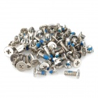 Repairing Parts Aluminium Alloy Screw Set for Iphone 5 - Silver (52 PCS)