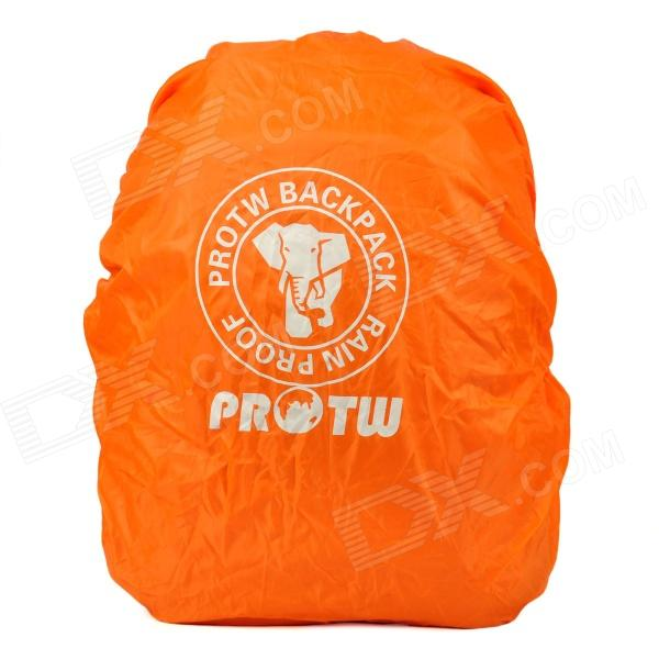 PROTW Outdoor Mountaineering Waterproof Rain Cover for Backpack - Orange (40L)