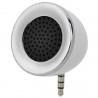 3.5MM Audio Jack Mini Speaker for Iphone / Ipod / Ipad - White