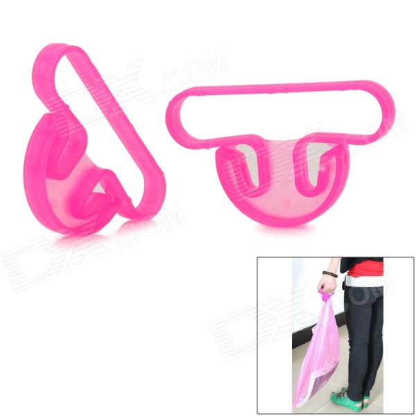 Plastic Handle for Home Shopping - Red (2 PCS)