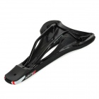 WH-90 Ultra-tenký Cyklistika Rubber Bicycle Seat / Sedlo - Black