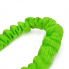 ZY-107B Elastic Glow-in-the-Dark Car Towing Rope - Green + Blue + Silver