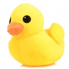 HY0901 Short Plush Rubber Duck Doll - Yellow