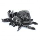 Schock-your-Freund Soft Rubber Lifelike Spider - Schwarz