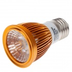 Ziyu ZY-649 E27 5W 500lm 3000K COB LED Warm White Light Bulb - Silber + Golden + White (85 ~ 265V)