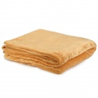 RT562050 Soft Coral Fleece Air Condition Blanket - Brown