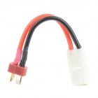 T-Plug Male to Tamiya Female Electric Battery Adapter Cable