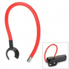 Sports Flexible Ear Hook - Red + Black