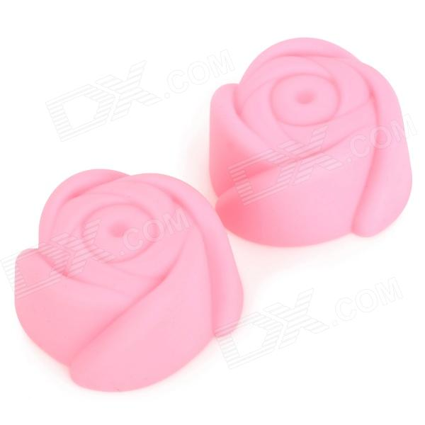 Rose Style DIY Cake Molds - Pink (2 PCS)