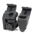 Aluminum Alloy Rapid Transition Sight Set for 21mm Rail Guns - Black