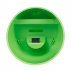 Cup Style Plastic Audio Amplifier for Iphone 4 / 4s - Green