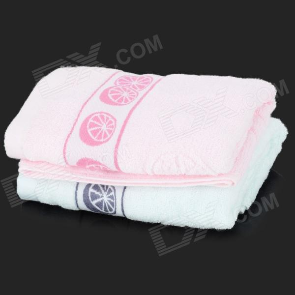 9216 Durable Cozy Pure Cotton Towel - Pink + Blue (2 PCS) угловая шлифмашина prorab 9216 slim page 2