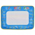 Water Magic Painting Non-Woven Cloth Board for Kids - Yellow + Blue + White
