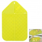 Multifunctional Folding Water Cutting Board Chopping Block - Green