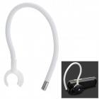 Sports Flexible Ear Hook - White + Silver