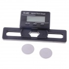 TL90 3.1 x 1.6cm LCD Digital Pitch Gauge for ST250-800 Flybarless Helicopter - Black (2 x CR2032)