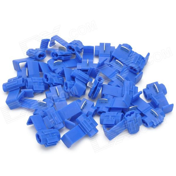 DIY Car Quick Wire Connection Clip Button - Blue (30PCS)