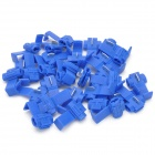 DIY Car Quick Wire-Anschluss Clip Button - Blau (30PCS)