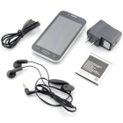 "mini S4 Android 4.2.0 GSM Bar Phone w/ 4.0"" Capacitive Screen, Quad-Band, FM and Wi-Fi - Black"