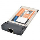 EU.MARK PCMCIA Cardbus 10/100M RJ45 Ethernet Network Adapter For Laptop