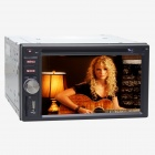 "Joyous J-2616MX 6.2"" Touch Screen Car DVD Player w/ GPS Navigation, Radio, Bluetooth, AUX - Black"